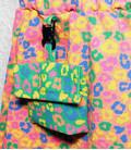 Rokje ' tijger print roze blauw groen en geel