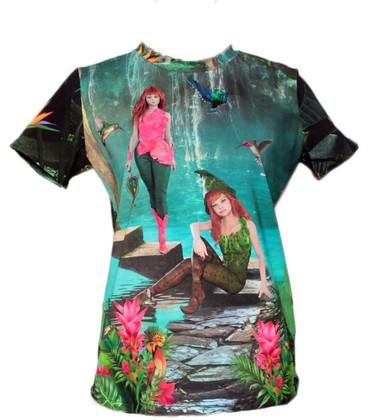 T-shirt 'Elfjes'