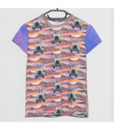 shirt korte mouwen dieren in outo