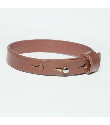 DQ slider schuif armband 10mm Zwart