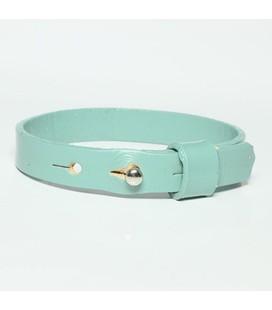 DQ slider schuif armband 10mm l  blauw