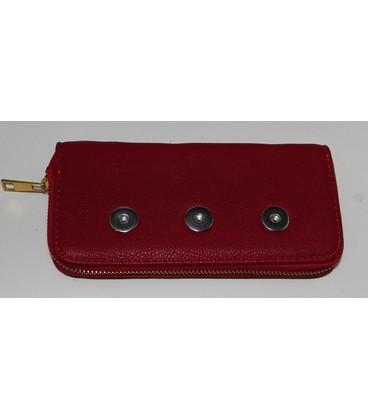 click portemonnee rood