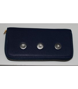 click portemonnee blauw