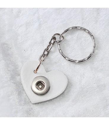 Sleutelhanger  mini appelgroen  ong. 3cm