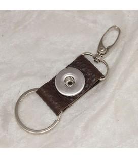 sleutel en tas  hanger bruin