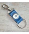 sleutelhanger grijsblauw