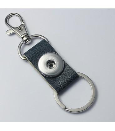 sleutel en tas  hanger blauw crackle