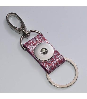 sleutel en tas  hanger roze glitter