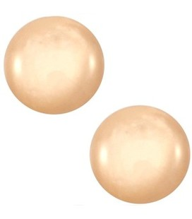 Cabochon 12mm Mosso shiny Light peach